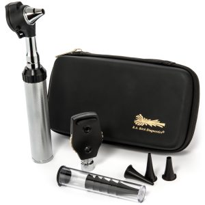 RA Bock Fiber-optic Otoscope Ophthalmoscope Kit